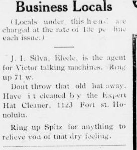 That's Old News:  The Victor Talking Machines
