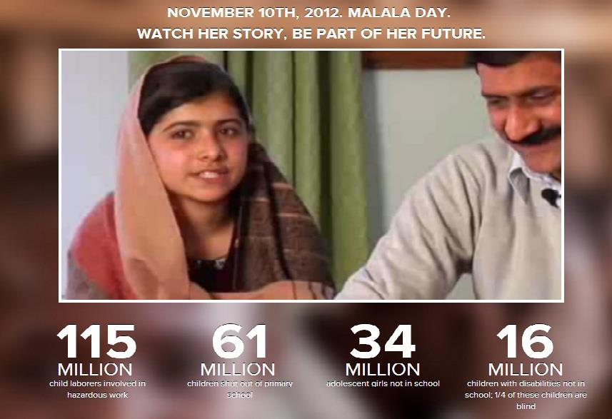 Malala Day:  The Fight for Education