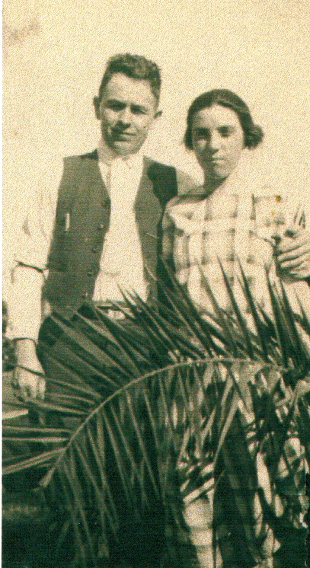Book of Me, Prompt 7:  My Paternal Grandparents