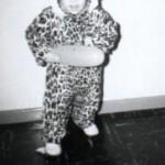 Me in my Halloween Costume ca. 1967