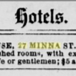 1876 Ad for the Nevada House